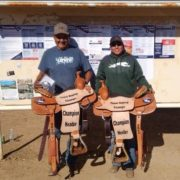 #8 Saddle Winners. Rudy and Lenay Willie