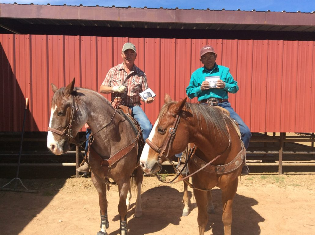 Team Roping Champs Dunns Arena Buckle Winners