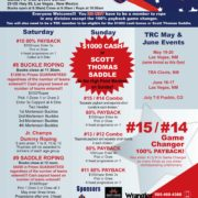 May 5 and 6 Team Roping Santa Fe Event Center New Mexico